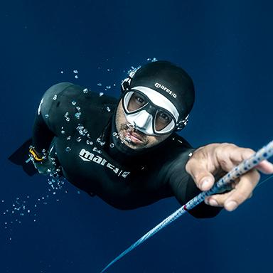 MARES Freediver Miguel Lozano