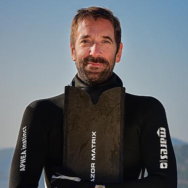 MARES Freediver Nik Linder